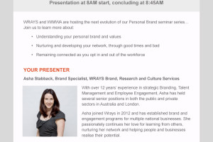 Nurturing Your Network Seminar