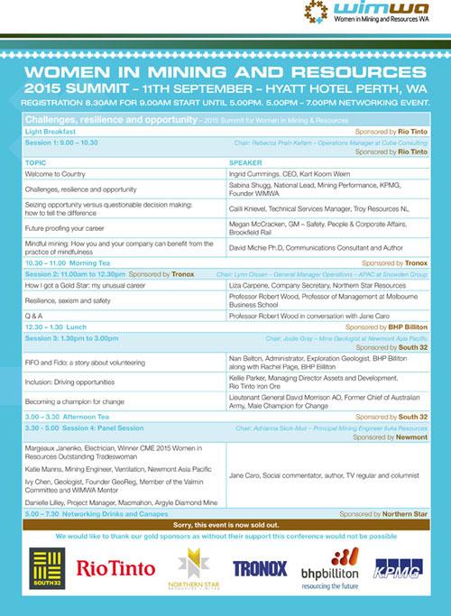 WIMWA 2015 Summit 1pg Flyer