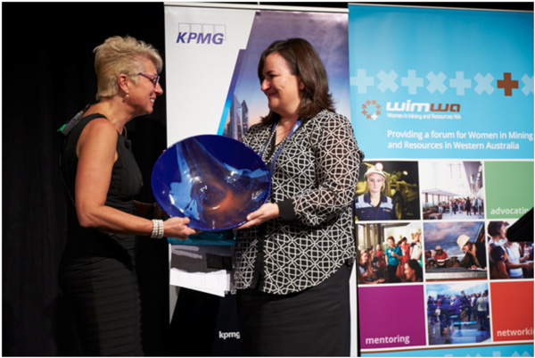 Suzy Urbaniak – WIMWA Award for Outstanding Initiative in Promoting and Supporting Women in Mining