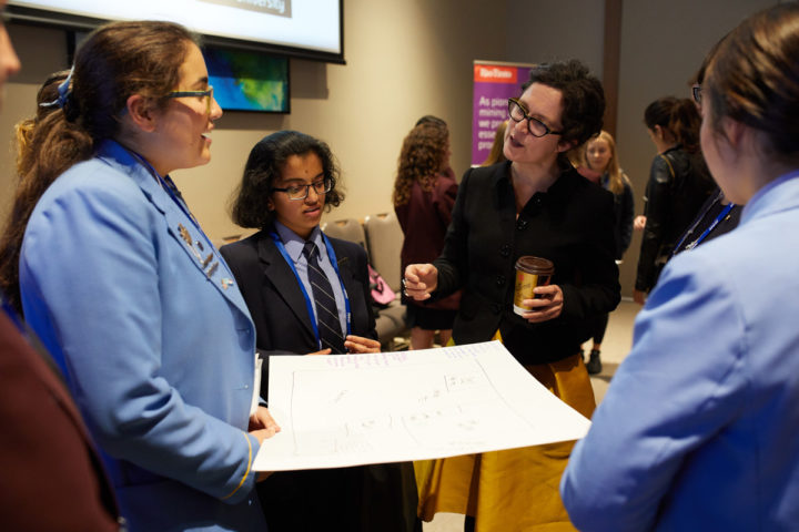 """""""You can't be what you can't see."""" Engaging school students with STEM careers"""