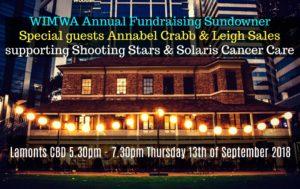 WIMWA Fundraising Sundowner